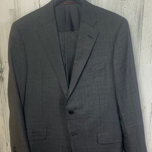 Hicky Freeman gray two piece suit.